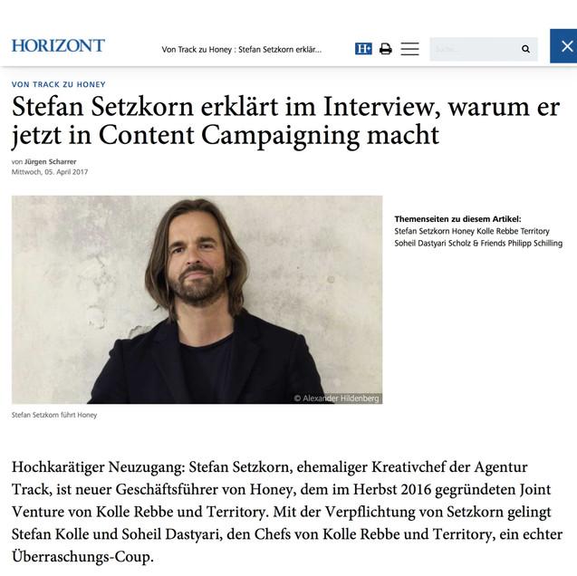 Setzkorn - Content Campaigning