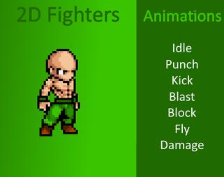 Basic 2D Fighter