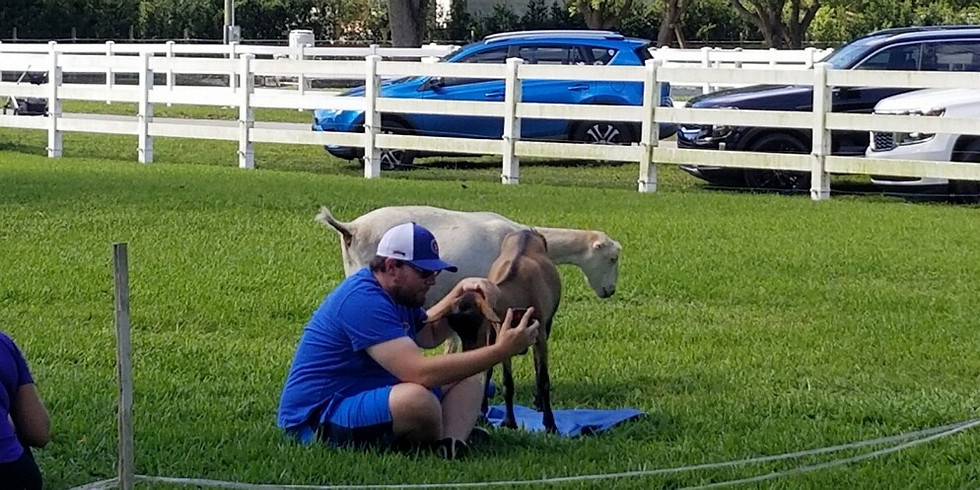 Broward Yoga with Little Goats - 9:00 SOLD OUT