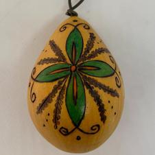 Leaf Egg Gourd Ornament