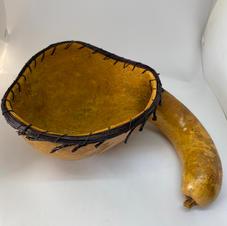 Gooseneck Gourd Bowl