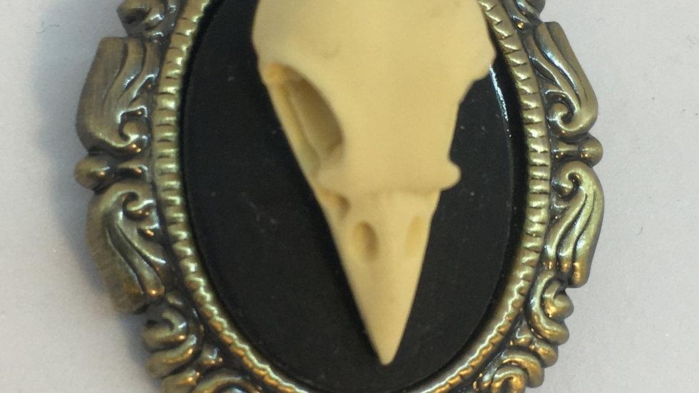 Mini Bird Skull Cameo
