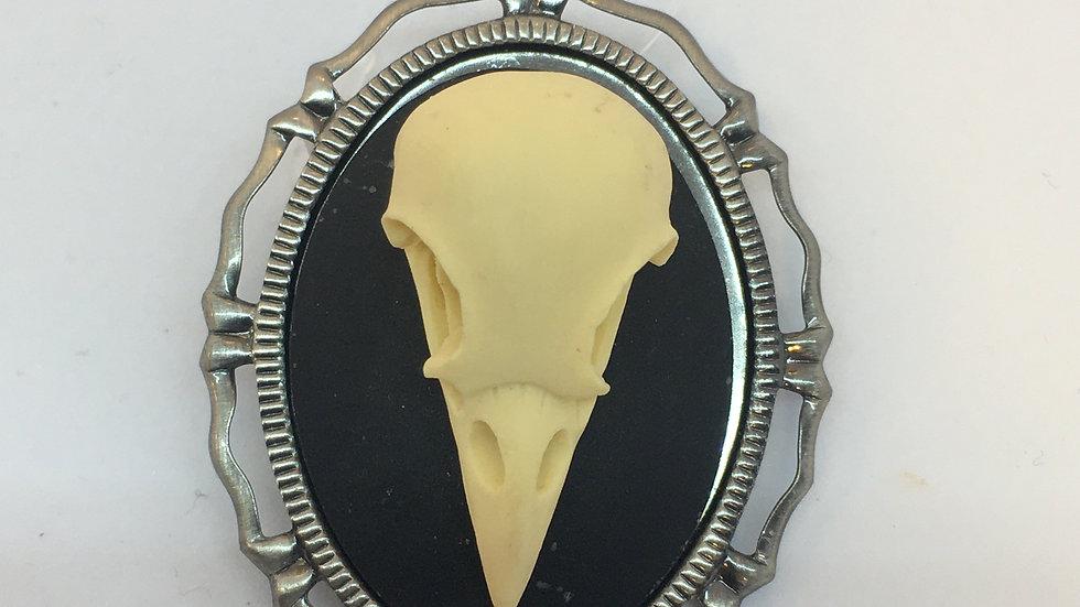 Bird Skull Cameo
