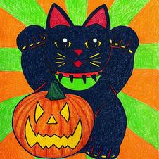 Black (Lucky) Cat