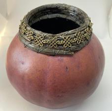 Purple Celtic Knot Gourd
