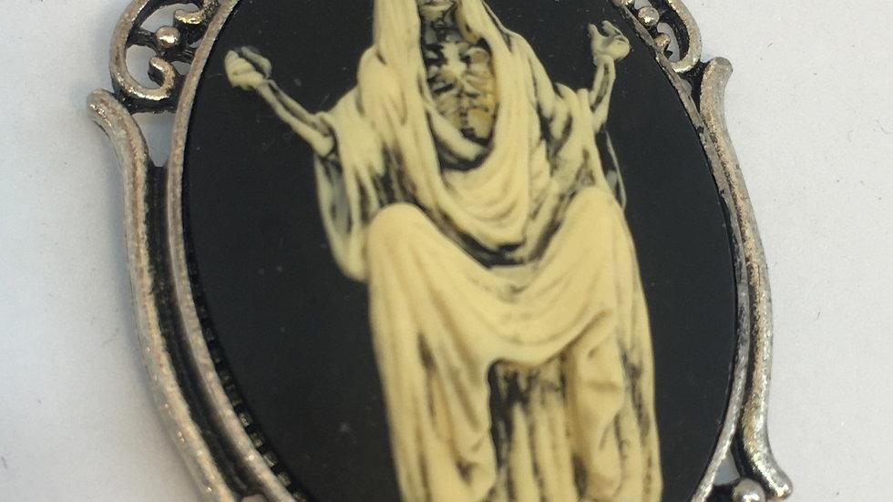 Santa Muerte Cameo