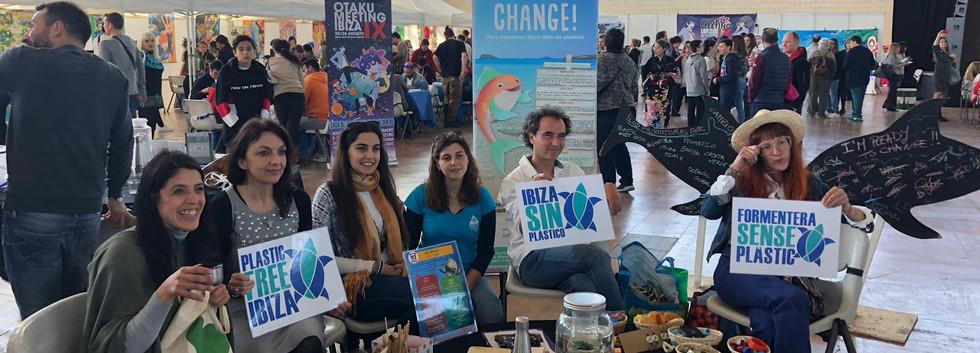 ONG that participated: Ibiza Limpia, Plastic Free Ibiza & Formentera, Creem Acuarium, Cociencia Plastica, Proartso