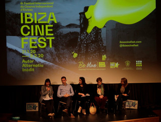 CLIENT:  Ayuntamiento de Santa Eularia des Riu  www.ibizacinefest.com/be-blue    IBIZACINESFEST BEBLUE    2020Ibiza, Spain    Event    Organization ofthe environment session of the IBIZACINEFEST, sponsored by BeBlue Trasmapi, with the European premier of The Story of Plastic, by BreakFreeFromPlastic and 10 selected short movies from the local ONG from Plastic Free Ibiza and Formentera. Over 300 people participated, included specialguests such as Marc Simon from Zero WasteEurope, local environmental organizations, political institutions andschools from Ibiza and Formentera.    IBILANDERS  Giada Forneris: concept and project direction;  Photos by: Gianluca Salati and Lorenzo Melissari