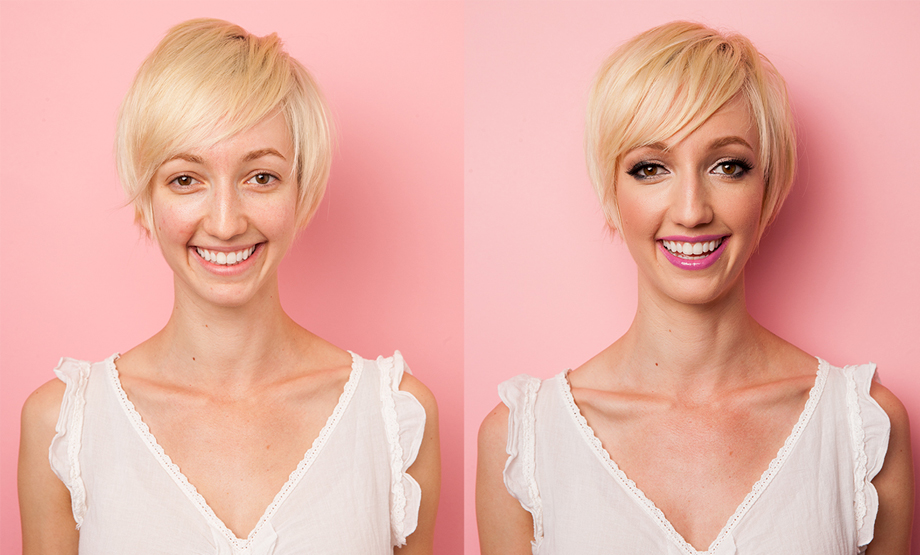 Photoshoot - Before and After