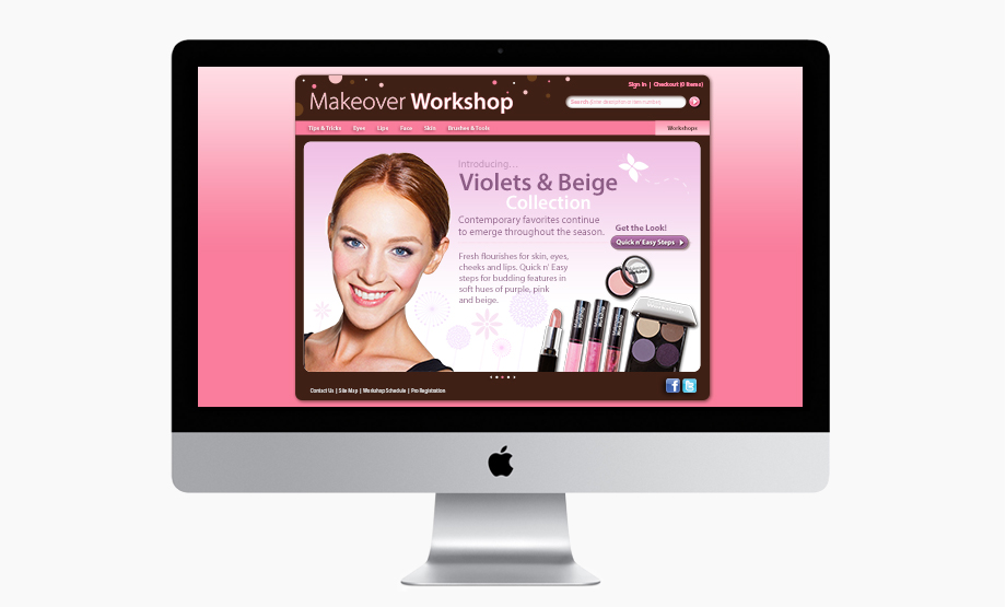 Website - Promotional Homepage