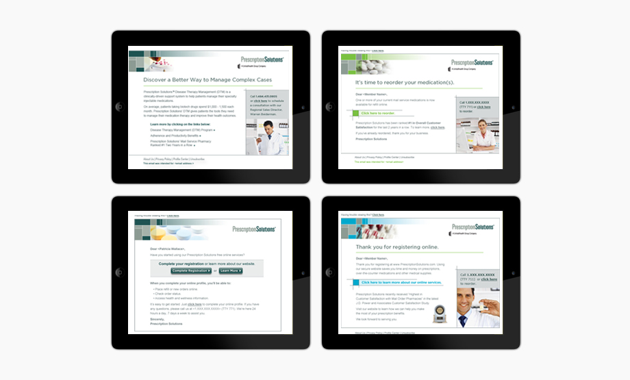 Prescription Solutions - Emails
