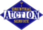 Grunthal Auction Service Logo with mallet