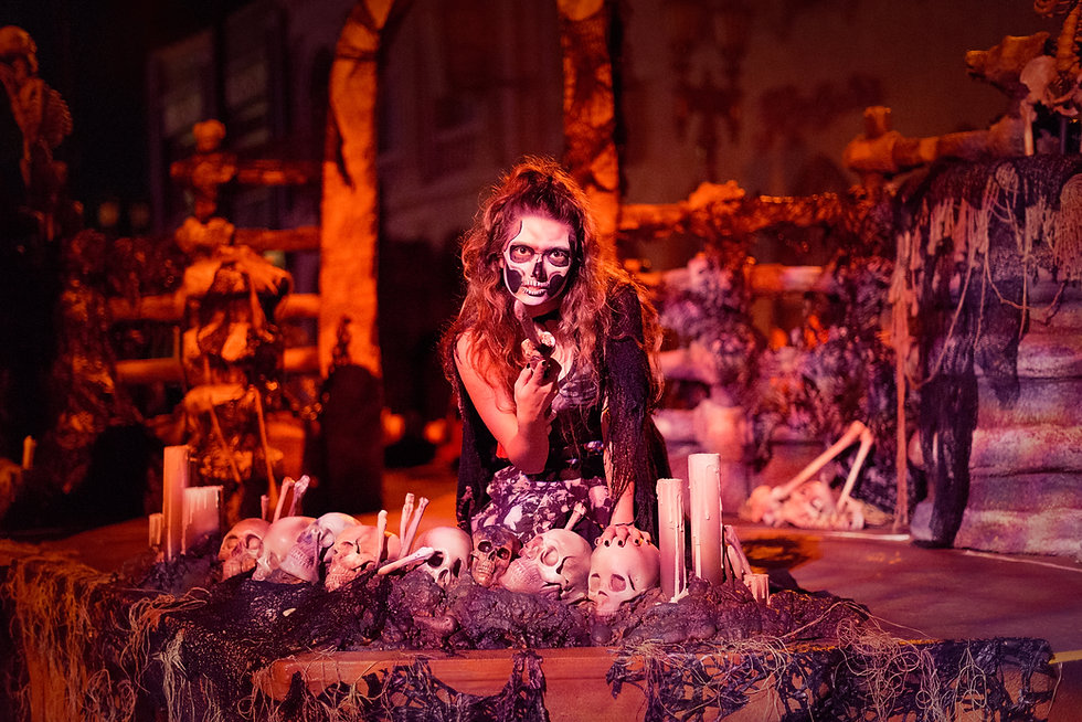 Personal Project | Halloween Horror Nights creative theme park photography