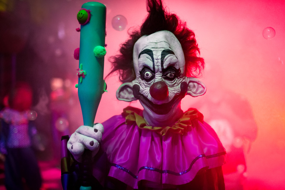 Personal Project   Halloween Horror Nights creative theme park photography