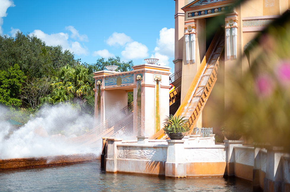 Personal Project | SeaWorld creative theme park photography