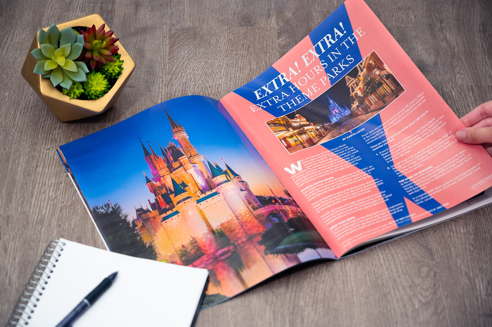 Client: WDW Magazine | lifestyle product photography