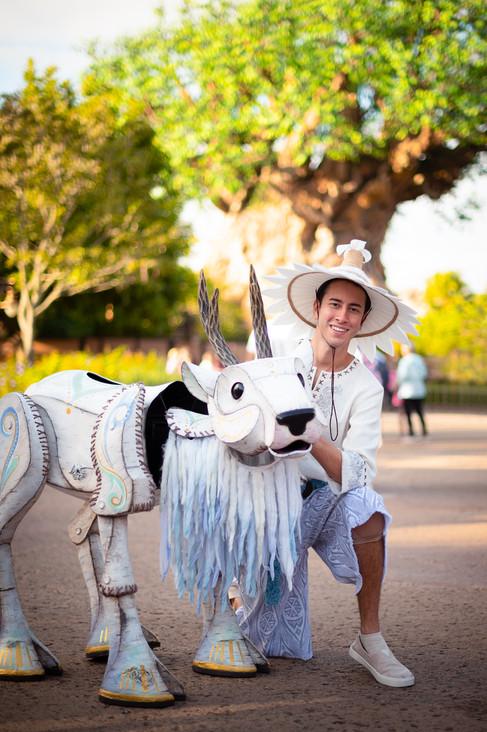 Client: WDW Magazine | Animal Kingdom creative theme park photography