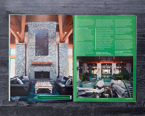 WDW Magazine print feature