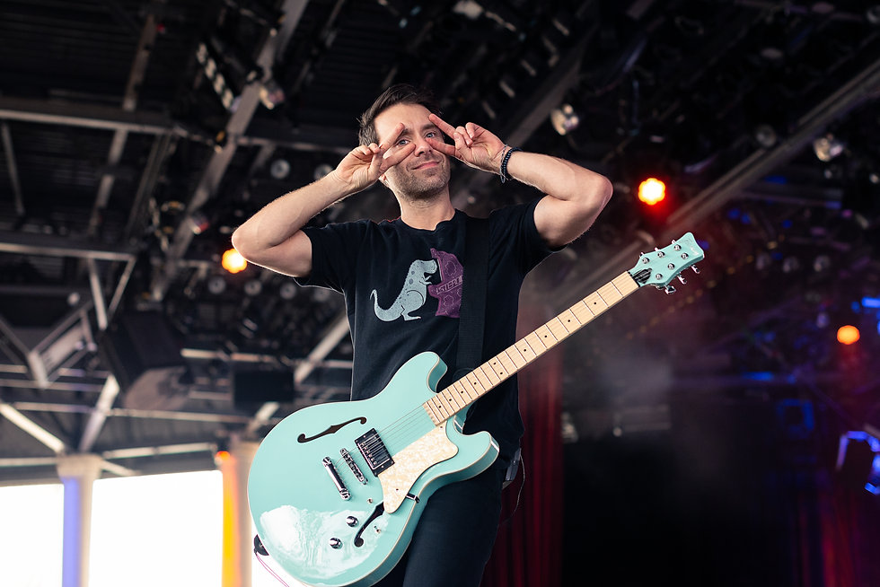 Personal Project | Simple Plan concert photography