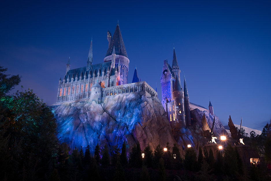 Personal Project | Universal Orlando creative theme park photography