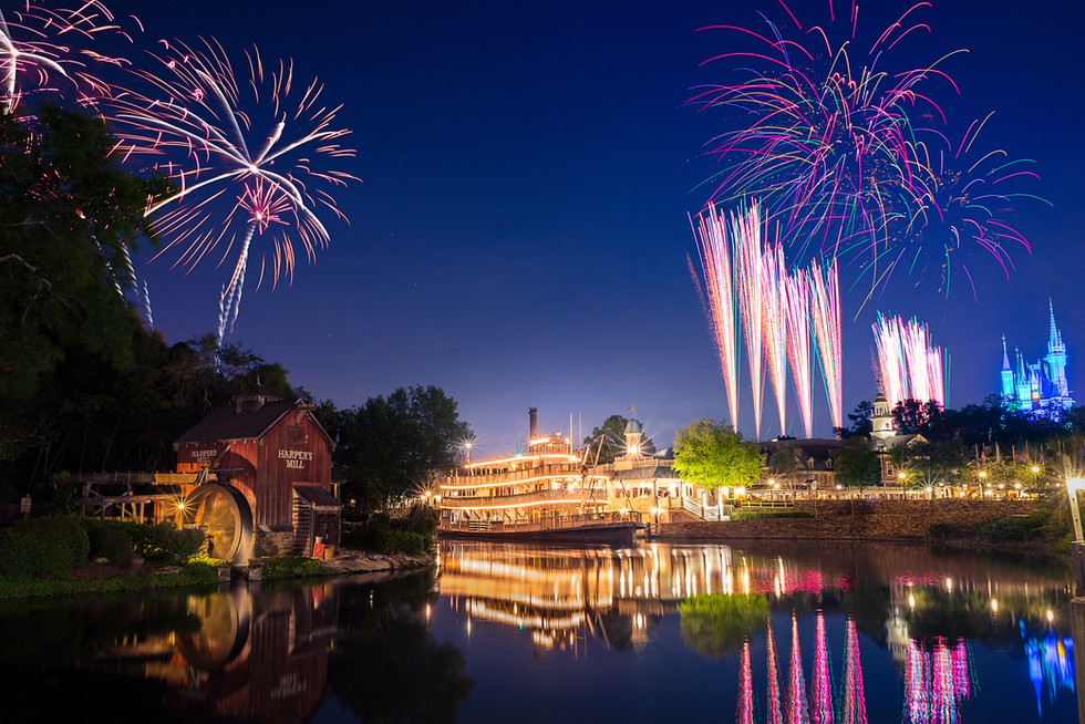 Personal Project | Magic Kingdom creative theme park photography