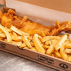 Large Cod with Chips