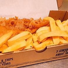 Regular Cod & Chips GLUTEN FREE - Thursday only