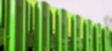 Готовые секции металлического штакетника