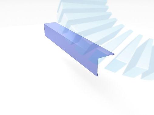 Фасонные элементы Наружный угол прямой