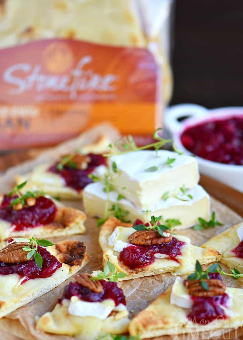 Cranberry Brie Pecan Bites