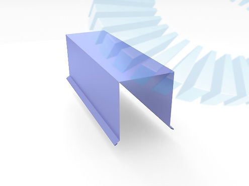 Фасонные элементы Парапет прямой