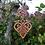 Thumbnail: Coeur de naissance avec oiseaux, triskell et trèfle quatre feuilles.