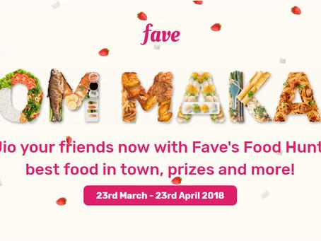 Fave's Food Hunt: Jom Makan Campaign