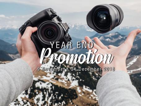 Olympus Year End Promo!