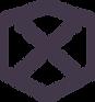 Hexagon with x inside