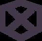 Hexagon mit x innen