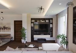 Modern nappali - étkező - konyha - Székesfehérvár