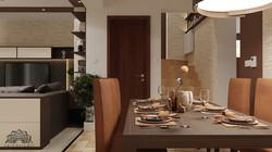 Mediterrán stílusú nappali - Székesfehérvár
