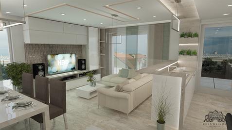 Penthouse lakás - Amerikai konyha - Székesfehérvár