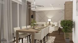 Elegáns, modern - nappali - étkező - konyha - Nagykanizsa