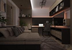 Minimalista nappali - Dolgozószoba - Székesfehérvár