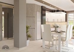 Minimalista nappali - étkező - konyha - Székesfehérvár