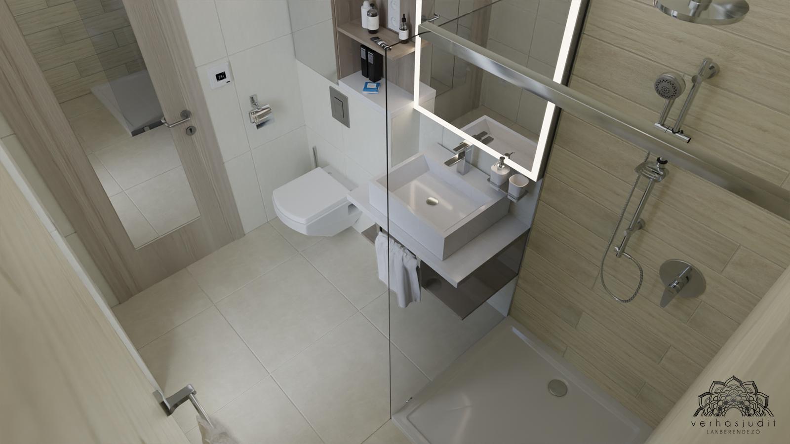 Penthouse lakás - Fürdőszoba - Székesfehérvár