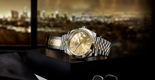 Mens Certified Pre-Owned Rolex DateJust