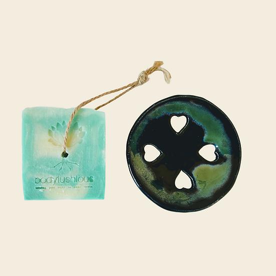 Soap + Soap Dish Gift Set