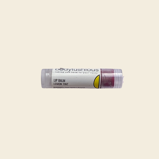 Lemon Tint Lip Balm
