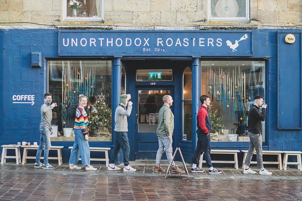 Unorthodox Roasters happy in their work