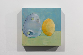 An Egg and a Stone (in the same bag) (2020). Image courtesy Jules Lister