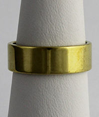 Raw Unfinshed Brass Jewelry Ring Findings