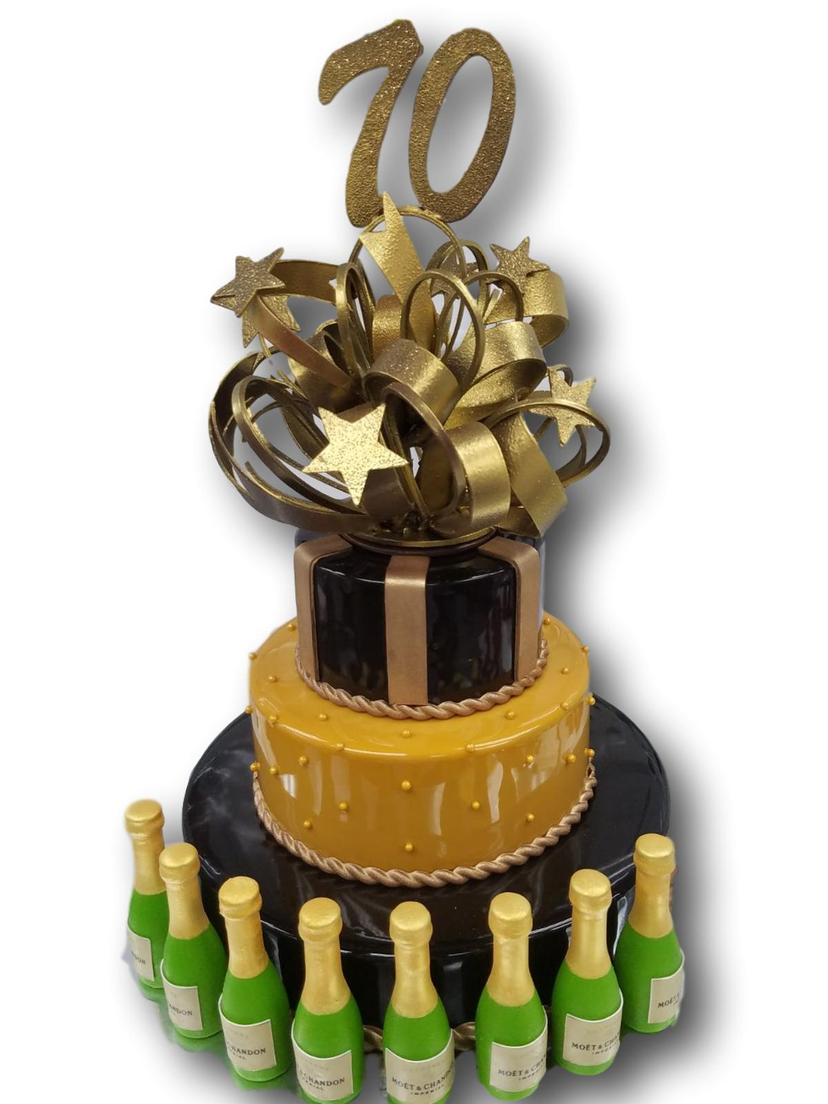 3 tier birthday cake